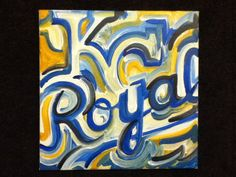 KC Royals Painting by Justin Patten Sports Art by stormstriker