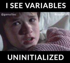 Variables. #coderlife  #programmers #software