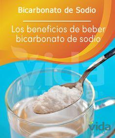 Conoce los beneficios de beber bicarbonato de sodio