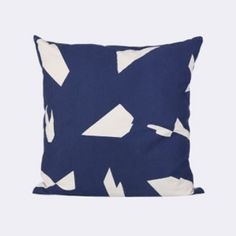 Ferm Living Cut Cushion: Give your home a face lift with one of our stylish cushions.   -Made of 100% organic cotton canvas -Printed by hand -Comes with a brass zipper -Use it for your chair, couch or bed and mix it with other cushions.