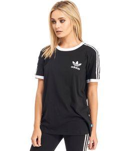 Adidas Originals 3 Stripe cuffed pantalones de sudor quiere estilo