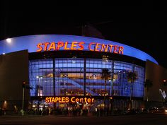 Hollywood - STAPLES Center