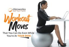 Workout moves that you can do even while you're at your desk. #chiropractorsingapore #cheapchiropractorsingapore #chiropracticsingapore #chiropractor #chiropractorbydrgarytho