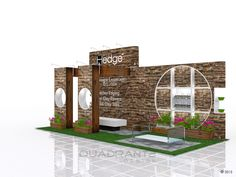 https://flic.kr/p/AmzPH4 | Exhibition stand design for Hedge | Exhibition stand design
