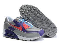 309299 031 Nike Air Max 90 ACG Pack Grey Alarming Varsity Purple AMFM0649