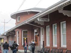 Eugene, Oregon Amtrak Train Station