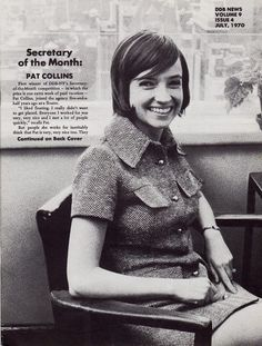 VOLUME 9 ISSUE 4 JULY, 1970 / Secretary of the month: PAT COLLINS