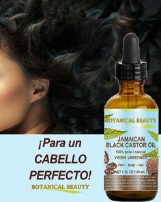 EL ACEITE DE CASTOR NEGRO DE JAMAICA se usa comúnmente en el cuidado del  cabello como c725d5441228