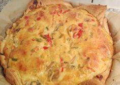 Η τάρτα της πεθεράς. Good Food, Yummy Food, Mediterranean Recipes, Bread Recipes, Quiche, Mashed Potatoes, Food And Drink, Pizza, Dinner