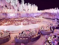 Top 10 Luxury Wedding Venues to Hold a 5 Star Wedding - Love It All Wedding Goals, Wedding Themes, Wedding Planning, Wedding Decorations, Luxury Wedding, Dream Wedding, Wedding Day, Extravagant Wedding Decor, Wedding Scene