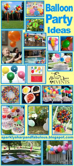 Balloon Party Ideas - perfect for kids of all ages!