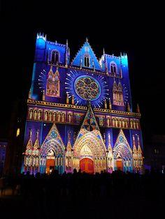 #Fête des Lumières in #Lyon #France  http://www.fetedeslumieres.lyon.fr/    @Monica Forghani Thatcher Bijou