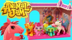 New Animal Jam toys! You can probable buy them at your local Walmart
