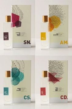 perfume packaging via ardor, how can packaging can be this simply elegant?