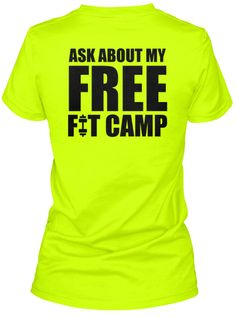 Herbalife 24 Ask me about my free FitCamp shirts! Love it!!! http://teespring.com/h24freefitcamp