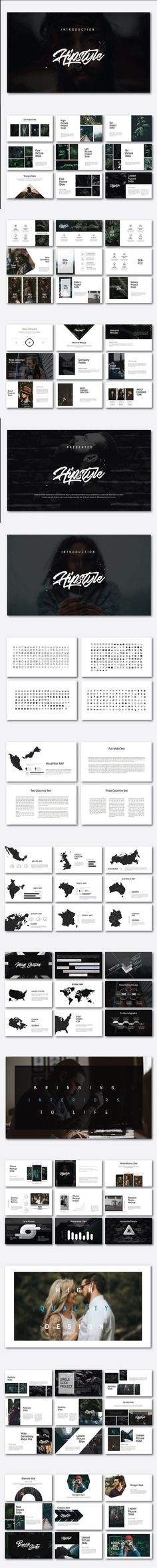 Hipstyle Multipurpose Keynote. Presentation Templates