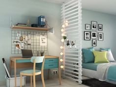 Interior Living Room Design Trends for 2019 - Interior Design Interior Design Kitchen, Interior Design Living Room, Home Bedroom, Bedroom Decor, Ikea Design, Studio Apartment Decorating, Apartment Layout, Small Bedrooms, Bedroom Designs