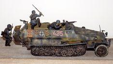 """Schützenpanzerwagen Sd.Kfz. 251/1 Hanomag –  Panzerdivision """"Großdeutschland"""" Ostfront 1943"""