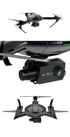 Дрон #Erida от #YiTechnology сможет снимать видео в разрешении 4K с частотой в 60fps