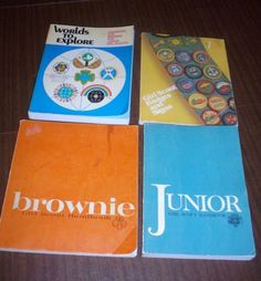 I had the book with the sash and badges on it.  I studied it all the time looking for badges I could earn.
