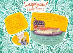Guest comic: Leipajuusto (Bread Cheese) by Brittney Sabo