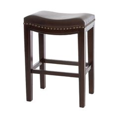 "Home Loft Concepts Avondale 26"" Bar Stool with Cushion"