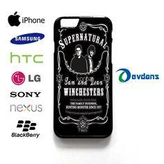 supernatural Case for iPhone, iPod, Samsung Galaxy,HTC,LG,Sony,Nexus,Blackberry