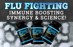 "Fighting a flu virus? — 3 powerful ingredients that work in synergy to protect your body by ""waking up"" the innate immune system all over the body."