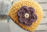 Free Crochet Hat Pattern. I wish I knew how to do this!
