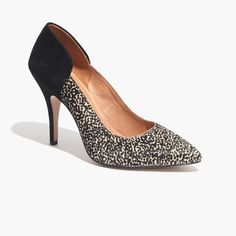 The Maddie Heel in Speckle : perfect 10 | Madewell