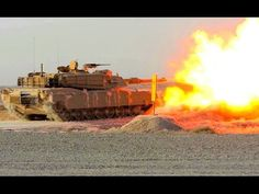 Russian military tanks live fire exercise during Russian armed force tra...