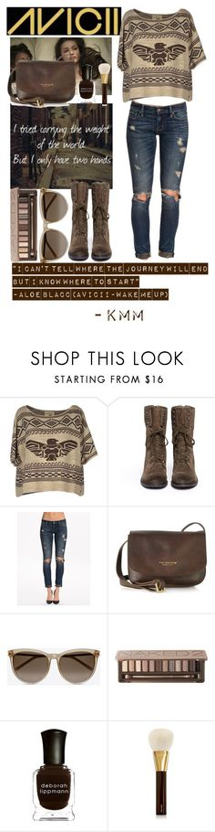 """Avicii- Wake me up inspired"" by keepcalm-lovefashion ❤ liked on Polyvore featuring Denim & Supply by Ralph Lauren, Sam Edelman, The Bridge, Yves Saint Laurent, Urban Decay, Deborah Lippmann and Tom Ford"