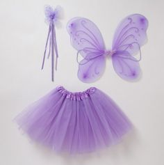 Tutu, Wings and Wand Set