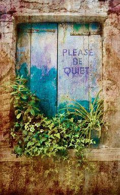 Please Be Quiet I by Pamela H Viola