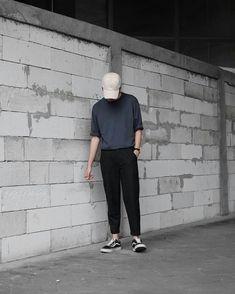 67 Ideas for clothes mens casual hats Korean Fashion Men, Korean Street Fashion, Korea Fashion, Mens Fashion, Mode Outfits, Casual Outfits, Fashion Outfits, Mens Casual Hats, Look Man