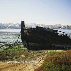 Viajar assim é viagem. Mas faço-o sem ter de meu. Mais que o sonho da passagem. O resto é só terra e céu. Fernado Pessoa  #portogallo #visitportugal #portugal #unaitalianainportogallo #seixal #tago #tejo #river #relic #relitto #boat #oldboat #nave #ship