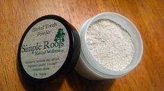 Organic Herbal Tooth Powder by SimpleRootsNaturals on Etsy https://www.etsy.com/listing/175494145/organic-herbal-tooth-powder
