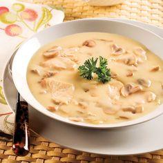 Repas réconfortant à servir avec du pain chaud et du beurre.