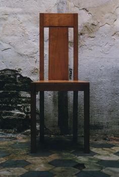 classic chair, cherry