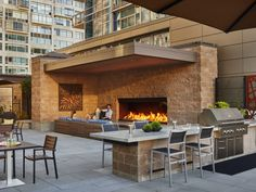 Outdoor Fire Can Bring Your Space to the Next Level. Learn More About Fire Burners, Fire Tables, and Custom Outdoor Fireplaces Today! #fireplace #fireburners #firetables #interiordesign #architecture #architects #design #ambiance #fire #relax #patio #poolside