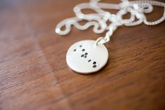 Taurus Constellation Necklace Zodiac Necklace - Star Jewelry April May Birthday Gift Sterling Silver Taurus Pendant Tiny Taurus Small Taurus