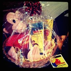 Donation jewelry basket for quarter auction gift baskets working on a silent auction this curious george basket was adorable used a basket basket rafflesilent auction basketsfall carnivalraffle ideaseaster negle Gallery