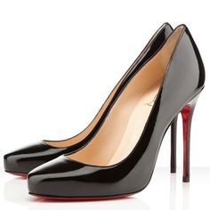 2014 Newest Christian Louboutin Elisa 100mm Pumps Black DUQ Has Distinct Style And High-Top Quality! #ChristianLouboutin #Louboutin