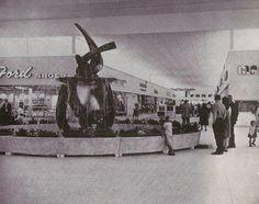 The Mall in Huntsville AL - 1960s