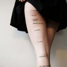 No importa lo que elijas usar, nadie tiene derecho a juzgarte por ello. La exposición a la piel no tiene correlación con el consentimiento. --------  No matter what you choose to wear, no one has the right to judge you for it. Skin exposure has no correlation with consent.