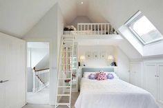 Loft ideas for small bedrooms impressive on small loft bedroom ideas small attic bedroom home design . Small Loft Bedroom, Mezzanine Bedroom, Attic Loft, Attic Rooms, Attic Spaces, Small Rooms, Attic Bathroom, Loft Bedrooms, Attic Playroom