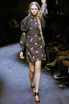 Miu Miu Spring 2010 Ready-to-Wear Fashion Show - Alisa Matviychuk