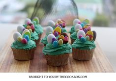 Easter Cupcakes Easter Cupcakes, Mini Cupcakes, Recipe Box, Cooking, Desserts, Recipes, Food, Cucina, Tailgate Desserts