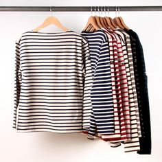 My sister teases me but I think simple stripes are the most classic look!