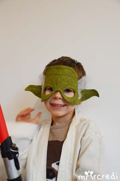 DIY de masque de yoda avec printable - Star Wars